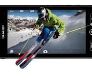 Sharps Aquos Phone macht Android dreidimensional