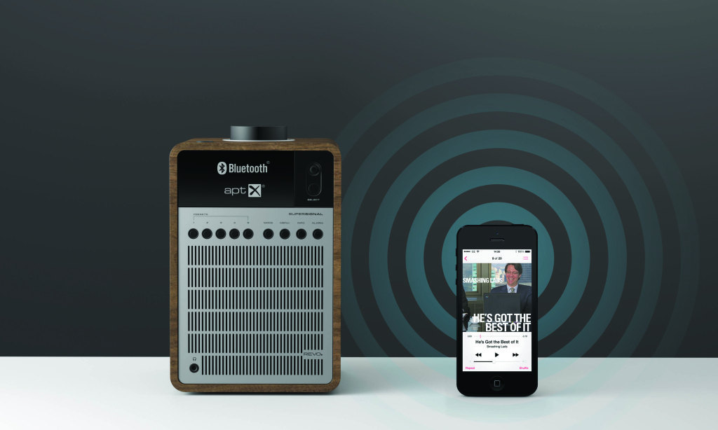 Revos Supersignal punktet mit DAB, FM und Bluetooth