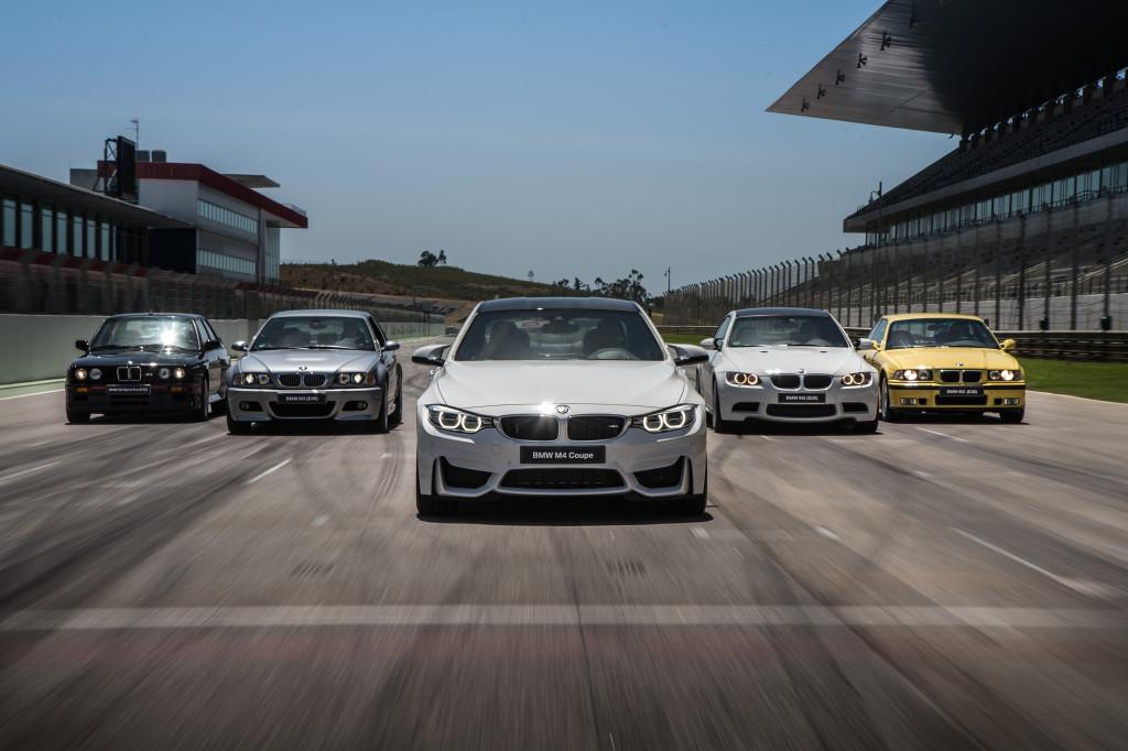 BMW M3 und M4 setzen die Tradition der sportlichen Limousine fort