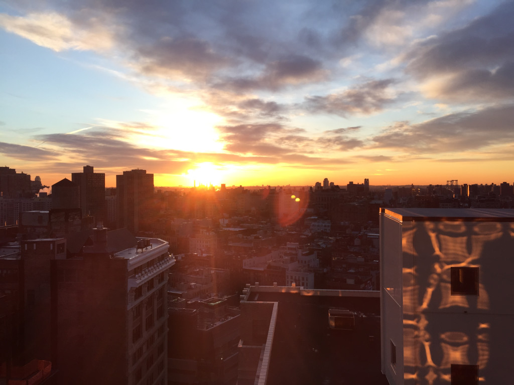 Sunrise - New York in 28 Stunden