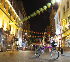 Small Bike - Big City