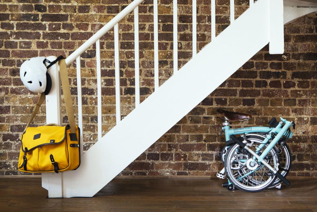Bromptons Kultrad macht sich so klein, dass es überall hinpasst