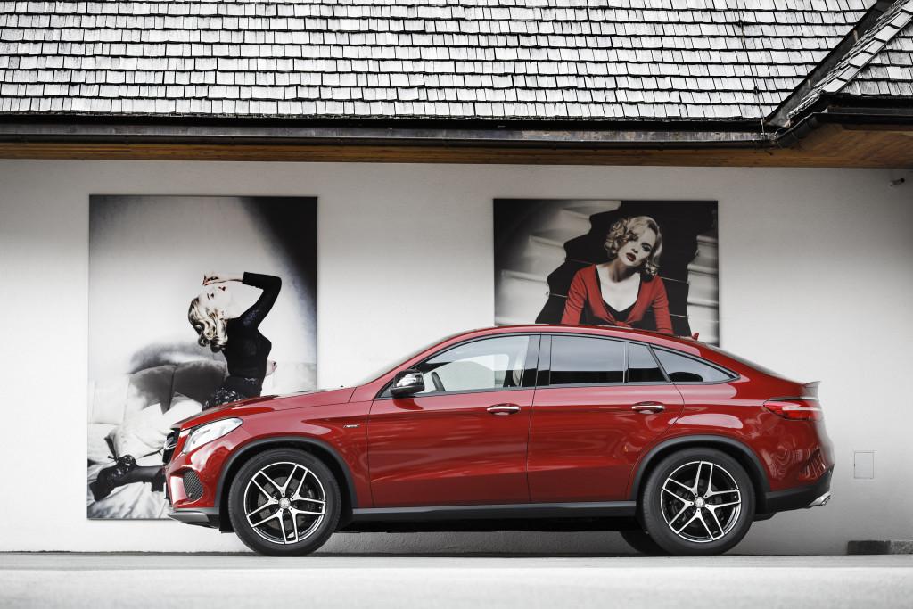 Eyecatcher: Das GLE Coupé bringt frischen Wind ins Segment der luxuriösen SUV-Coupés