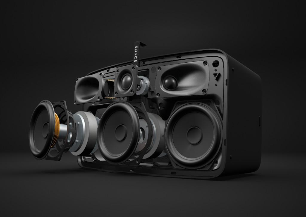 Je drei Hoch- und Mitteltöner sorgen für satten Sound und beeindruckende Räumlichkeit