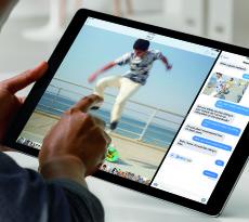 iOS 9 ermöglicht das parallele Arbeiten mit zwei Apps