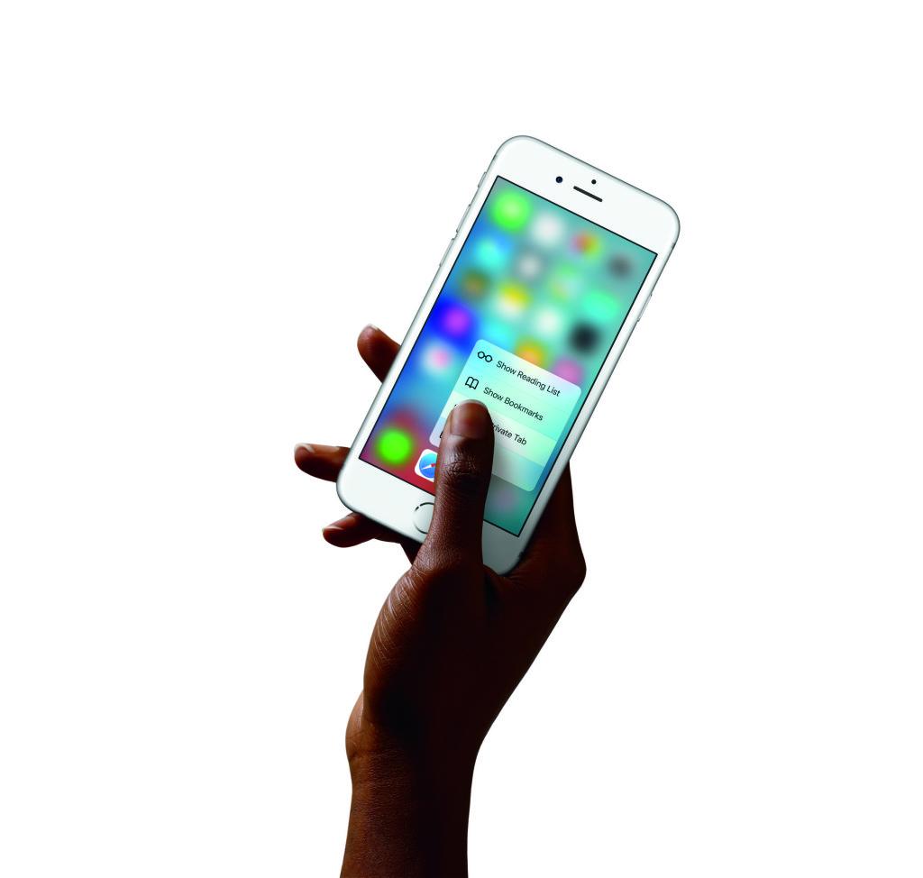 3D Touch ist die beeindruckendste Verbesserung in Sachen Handling