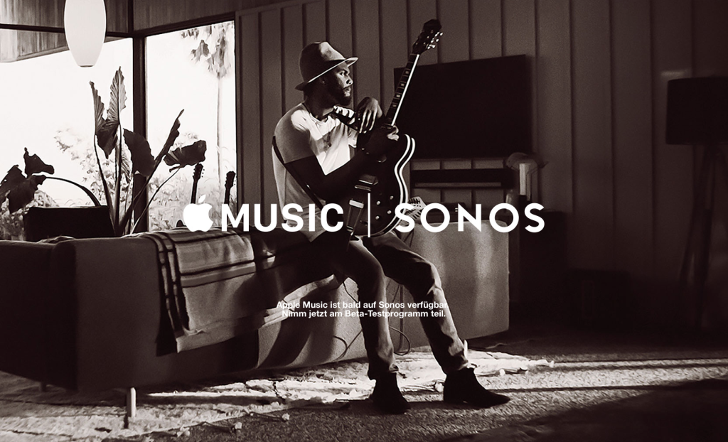 Seit heute ist Apple Music auf den Multiroom-Systemen von Sonos verfügbar