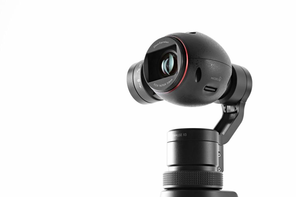 Eine gute Optik, eine Handvoll Motoren und viel Erfahrung in Sachen Bildstabilisierung -das macht die DJI Osmo aus