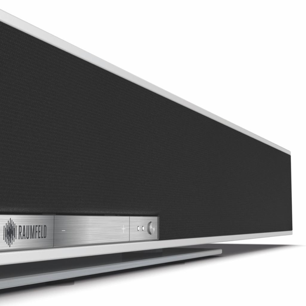 Raumfelds Soundbar ist mehr als ein TV-Tonverbesserer, er ist eine vollwertige Multiroom-Komponente