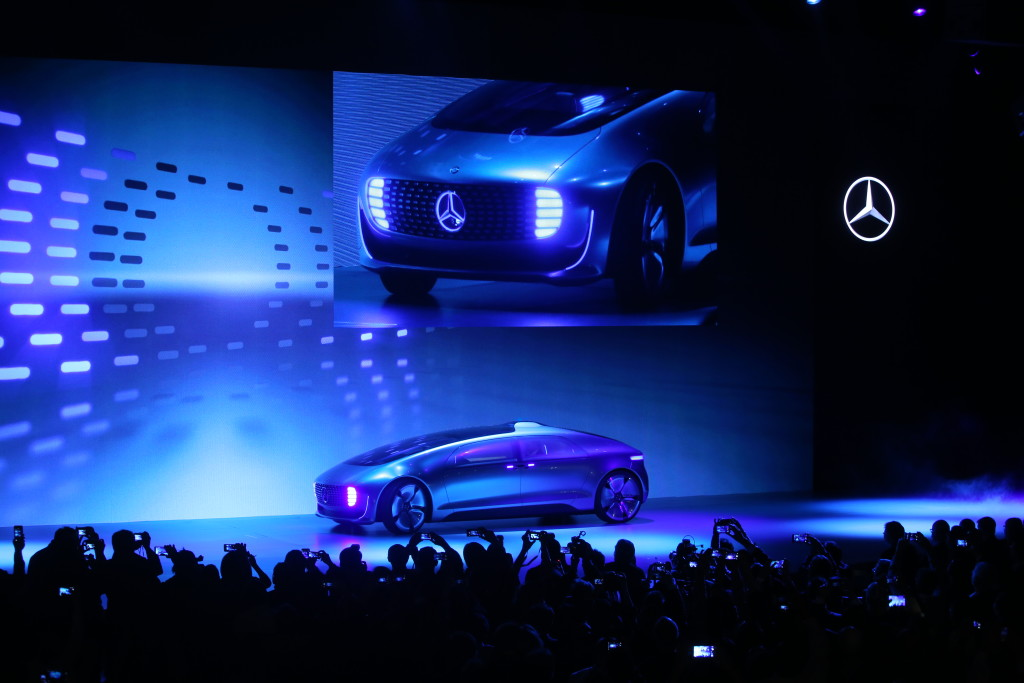 Im Januar 2015 war Mercedes' Concept Car F015 eines der Highlights