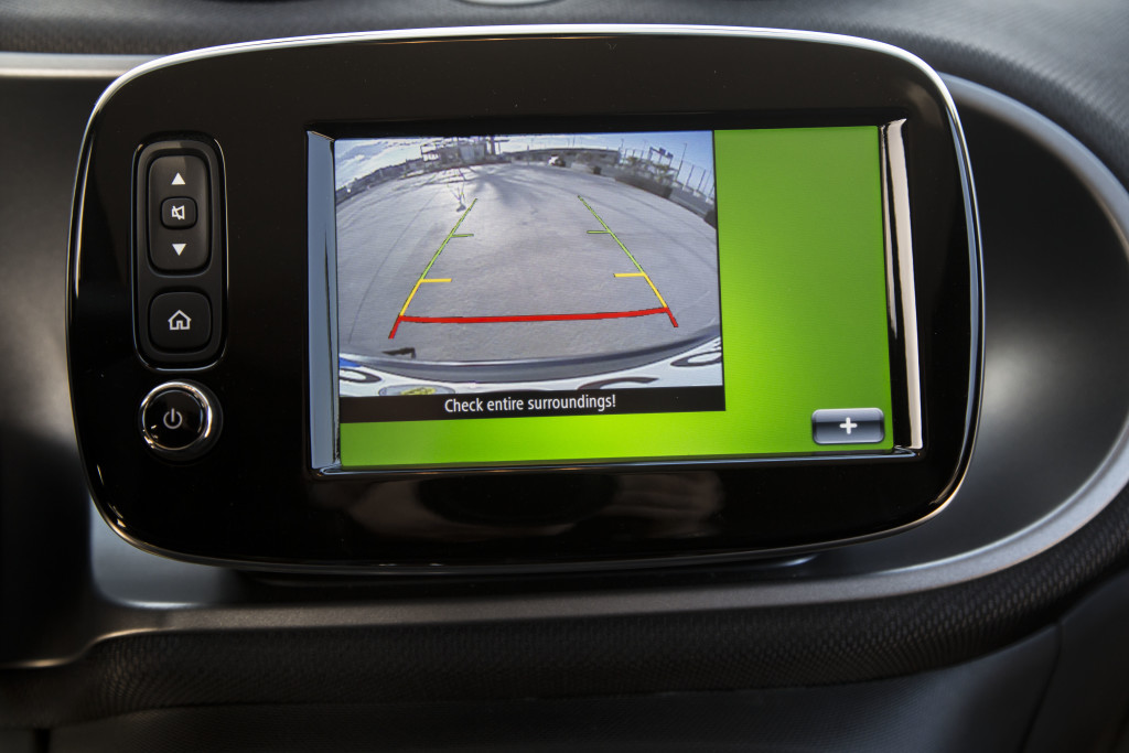Kann man machen: Rückfahrkamera im 2,70m Auto