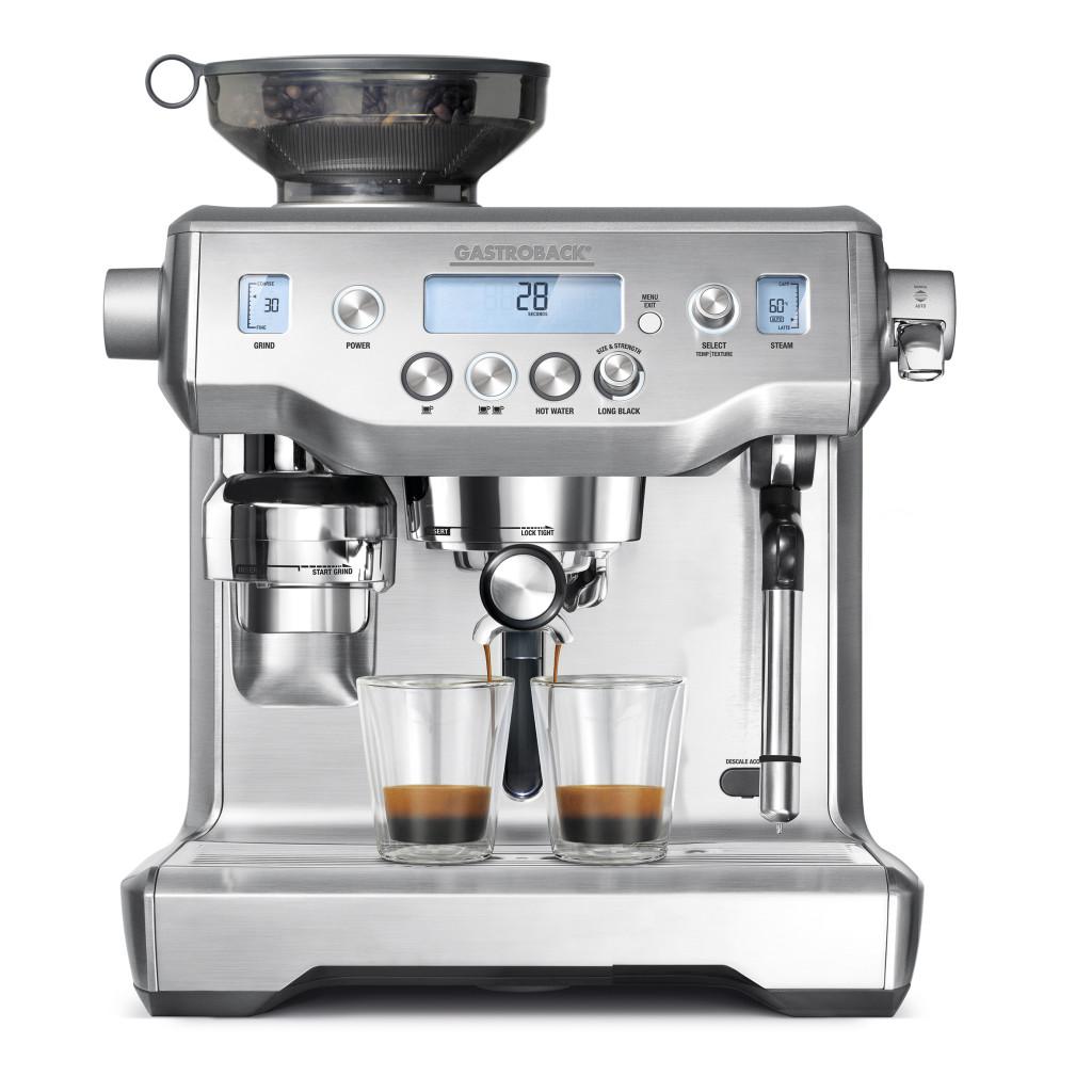 Gastroback Design Espresso Advanced Professional - Langer Name, bestechend guter Kaffee