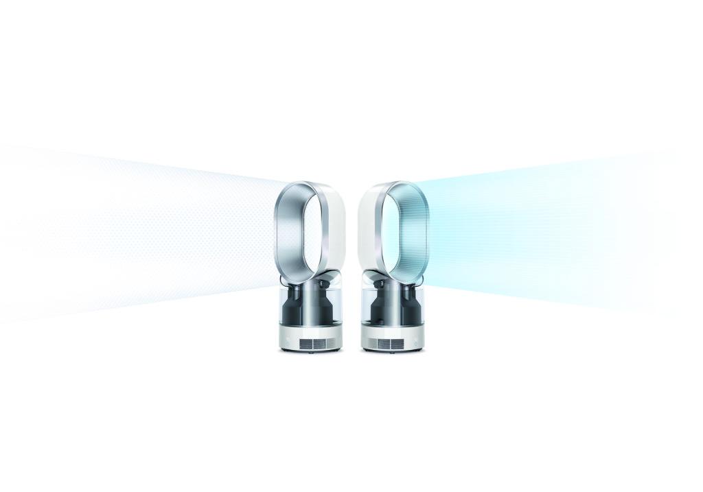 Multitalent: Wenn keine zusätzliche Feuchtigkeit gefragt ist, kann der AM 10 auch einfach als Lüfter eingesetzt werden