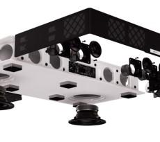Sechs Lautsprecher und zwei Subwoofer verbergen sich im Sounddeck, dazu ein Verstärker mit satten 280 Watt