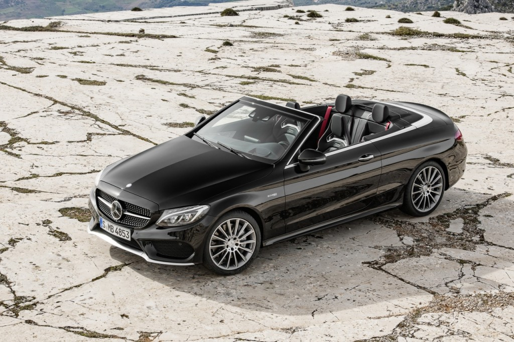 Vorerst mal das Topmodell: Mercedes-AMG C 43 Cabriolet