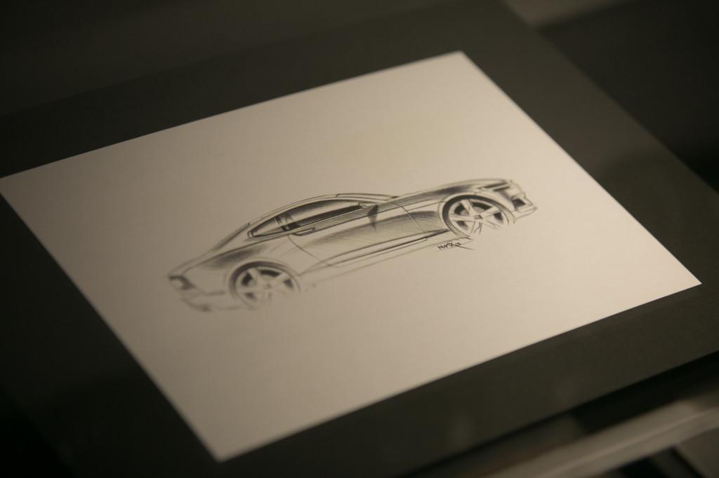 Designskizze Volvo