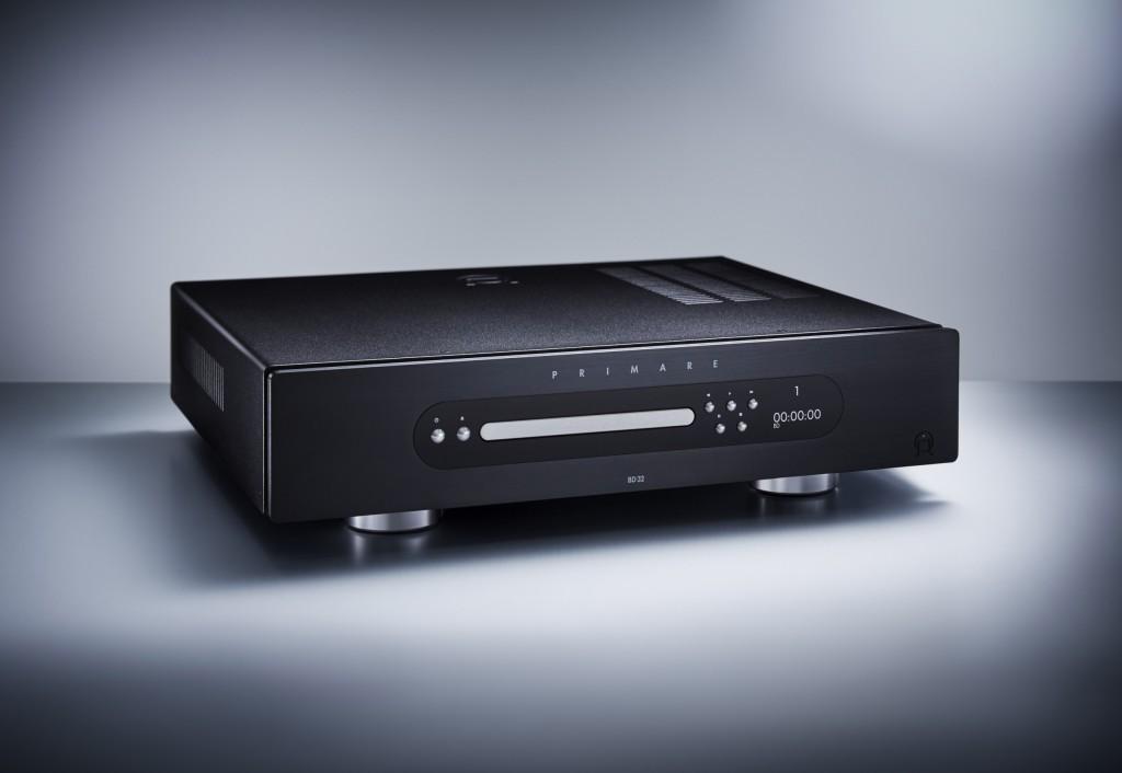 Der Blu-Ray Spieler Primare BD 32 ist die perfekte Ergänzung