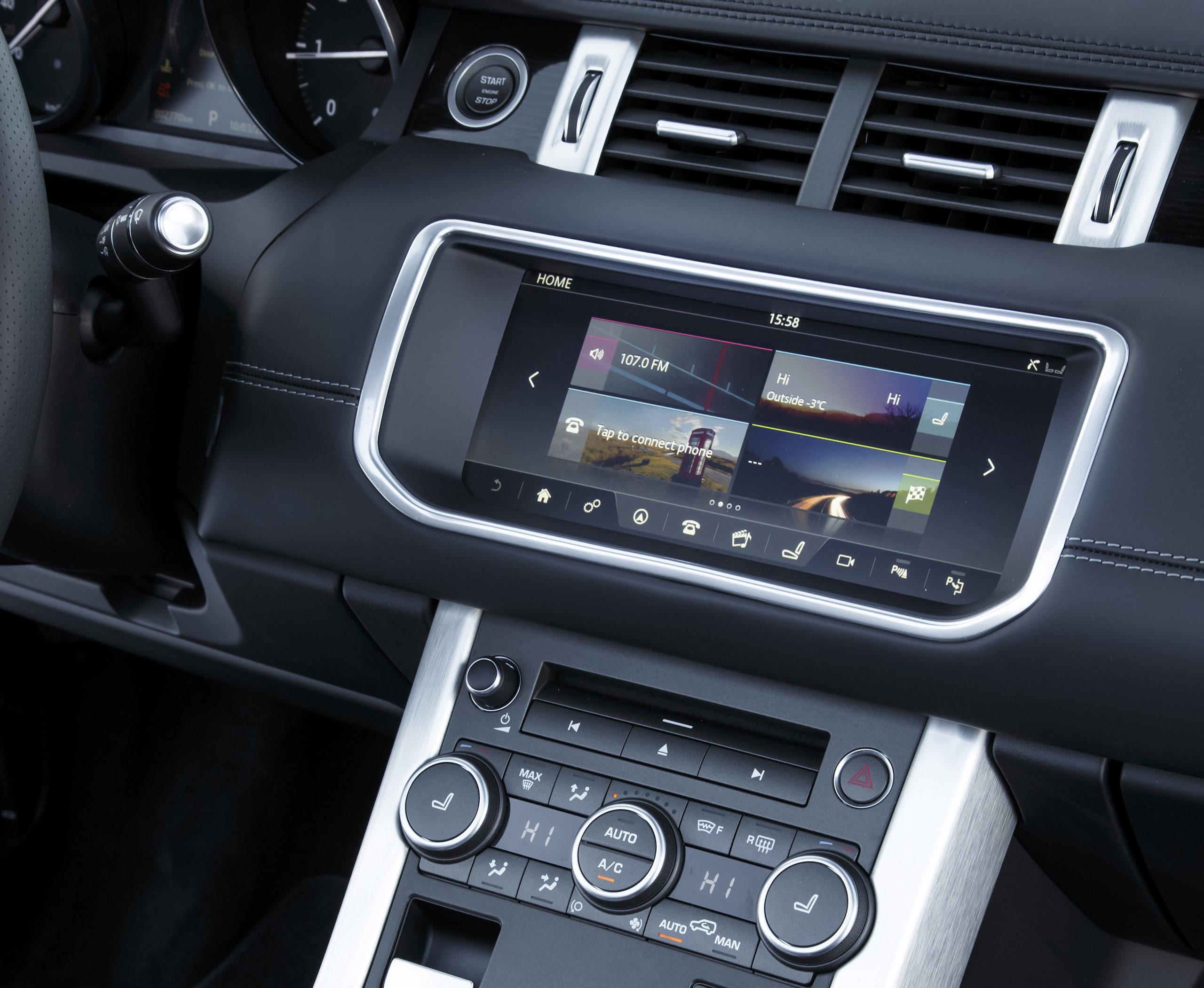 Infotainment extrabreit: InControl Touch Pro gibt es optional sogar mit 60 GB großer SSD für Musik