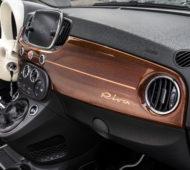 Italiener vereint: Der Fiat 500 Riva glänzt mit edlen Materialien