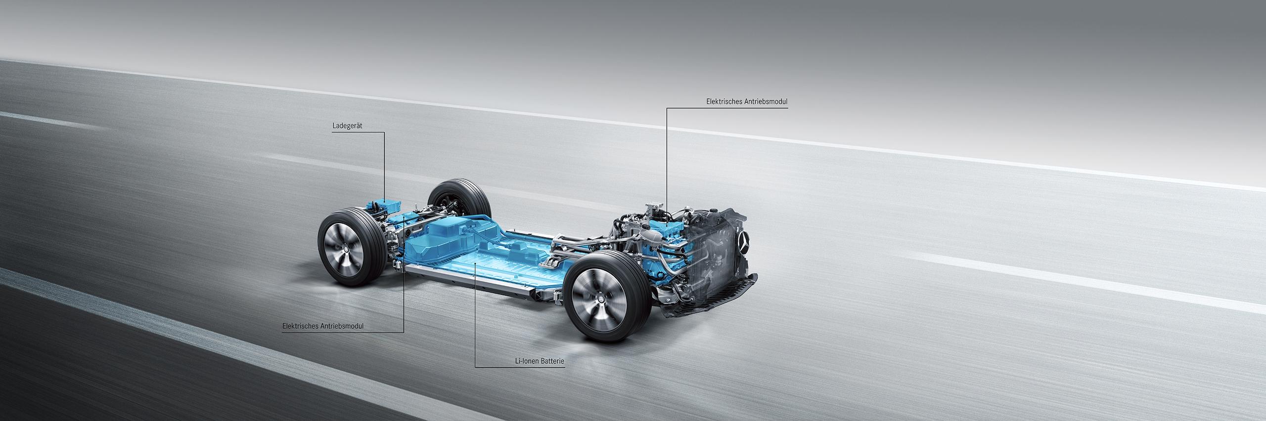 Batterien mit unterschiedlicher Technik lassen sich in das modulare Konzept für das reine Elektrofahrzeug integrieren, das noch vor 2020 seinen Weg auf die Straße finden soll