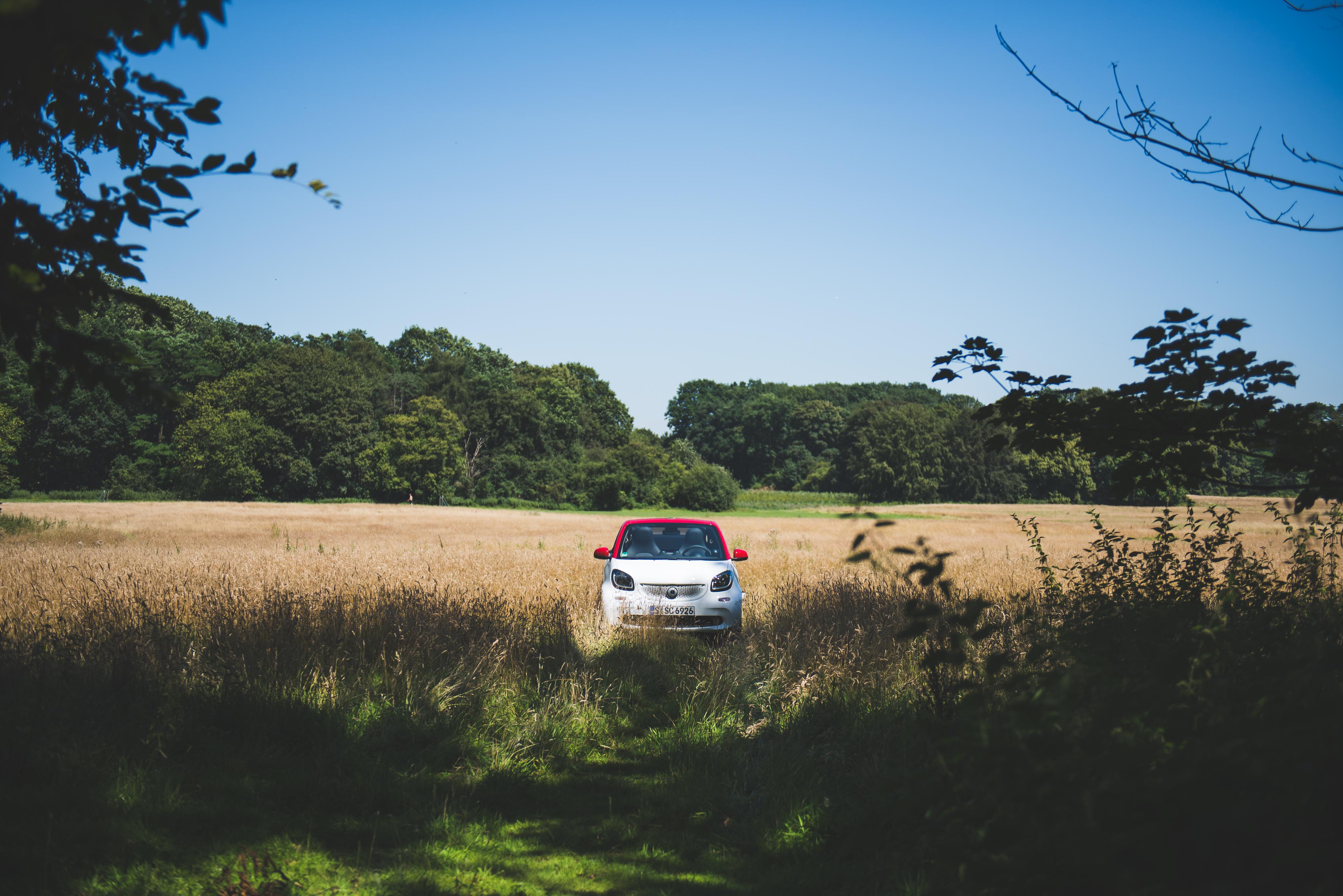 Freiheit auf 2,70m Länge: Das smart cabrio ist gelebter Minimalismus