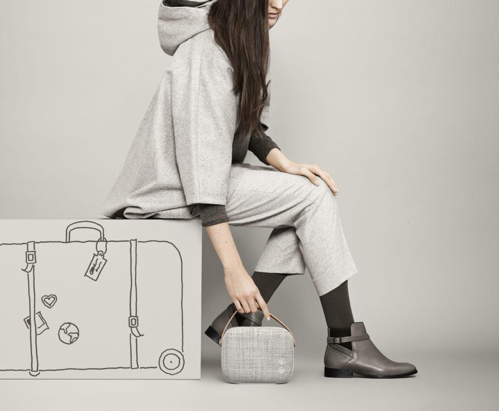 Das Vifa Helsinki ist die kompakte, tragbare Variante mit Akkubetrieb
