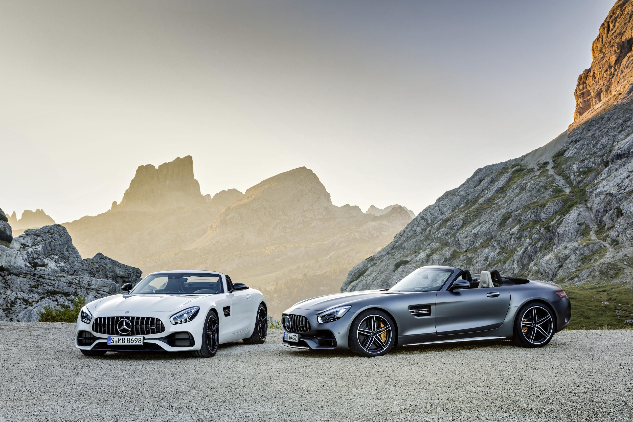Brüder im Geiste: AMG GT und GT C Roadster