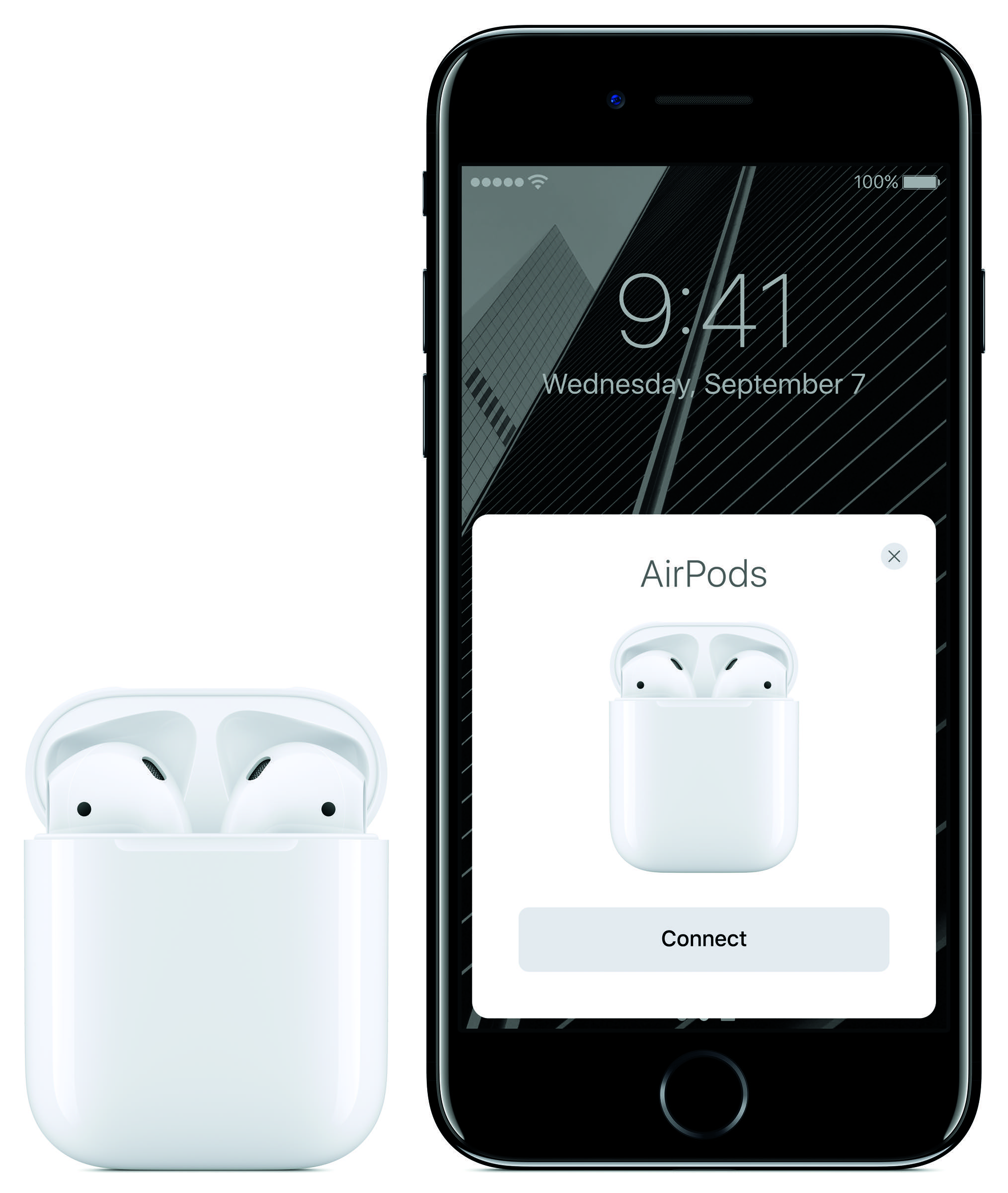 Drahtlos, aber nicht per Bluetooth: Die AirPods sollen unbeschwerten Musikgenuss liefern