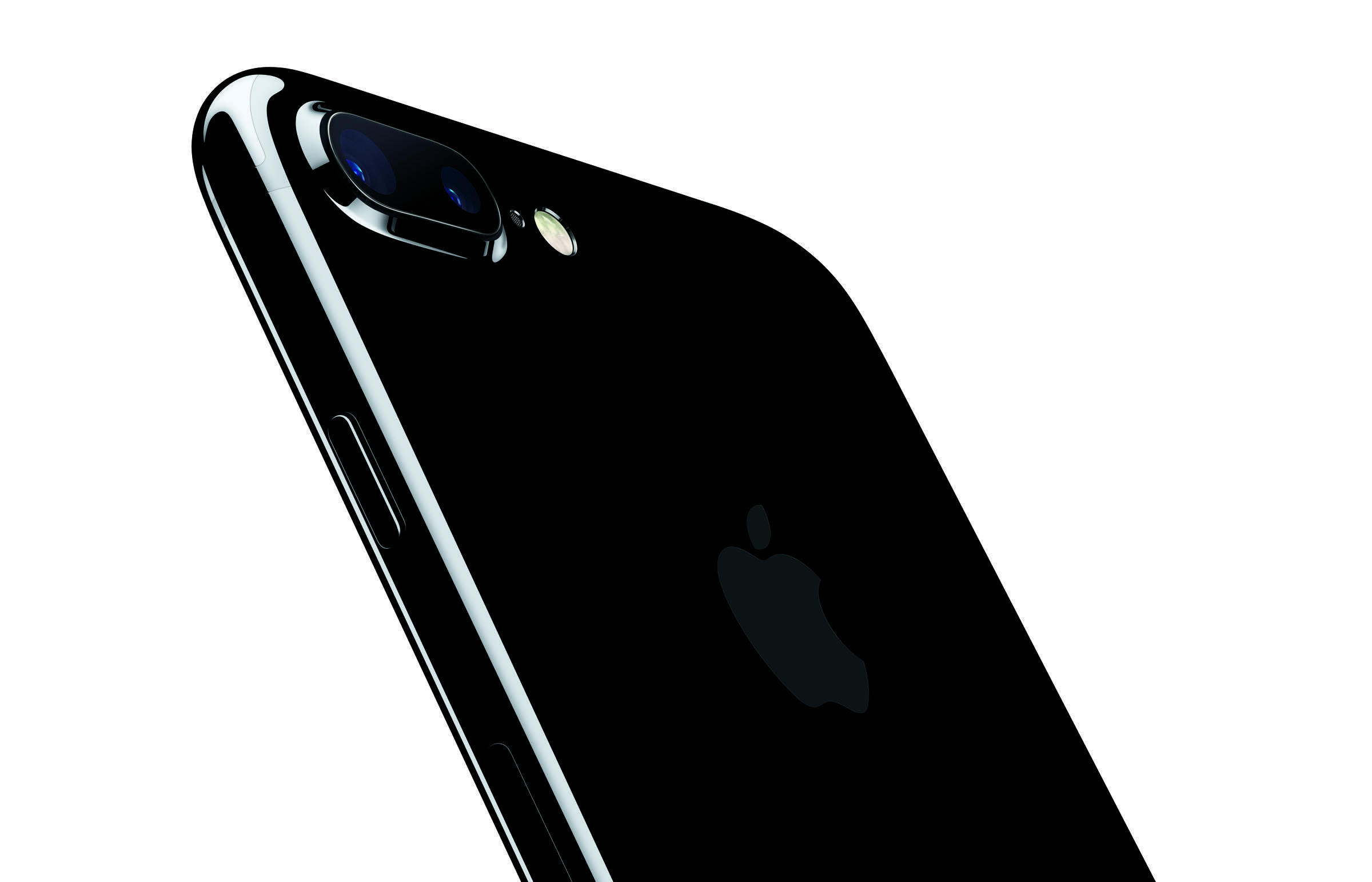 Das iPhone 7 Plus in Jet Black