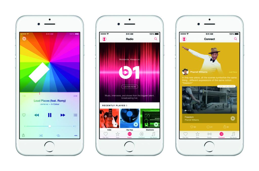 Apple Music macht Musik überall verfügbar, jederzeit