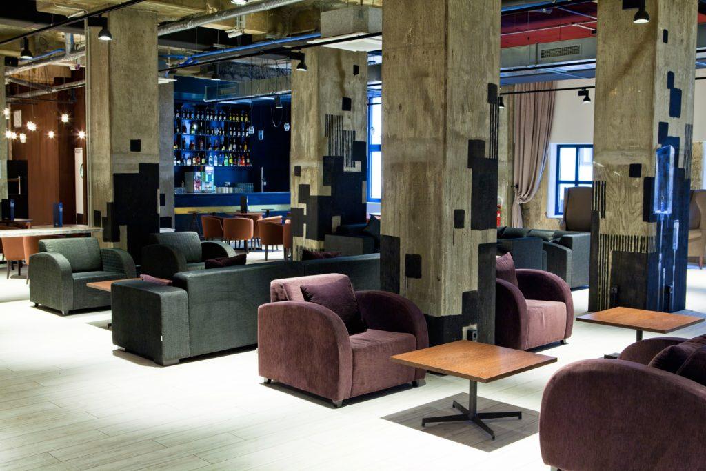 Industrial Chic dominiert im Hotel Catalonia Berlin Mitte