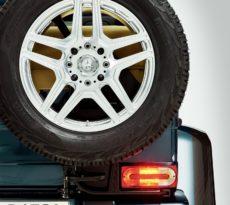 Drittes Bremslicht am Kunststoffausleger? Der G darf das