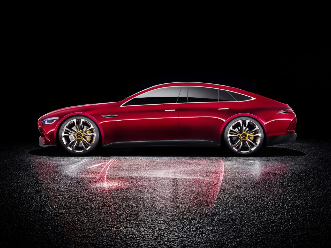 Der Star von Genf: Mercedes-AMG GT Concept