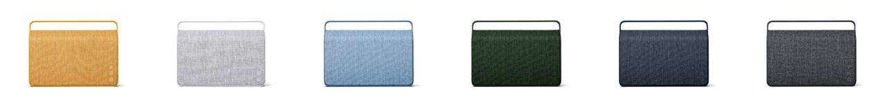 6 elegante Farbtöne stehen für Copenhagen 2.0 zu Wahl