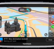 Das TomTom GO Premium bietet als erstes Navigationssystem eine IFTTT-Integration